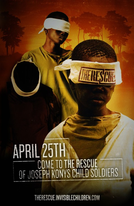 "Come to Invisible Children's ""The Rescue"" on April 25th!"