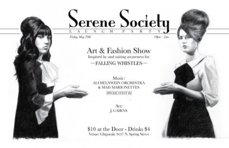 Serene Society Launch Party
