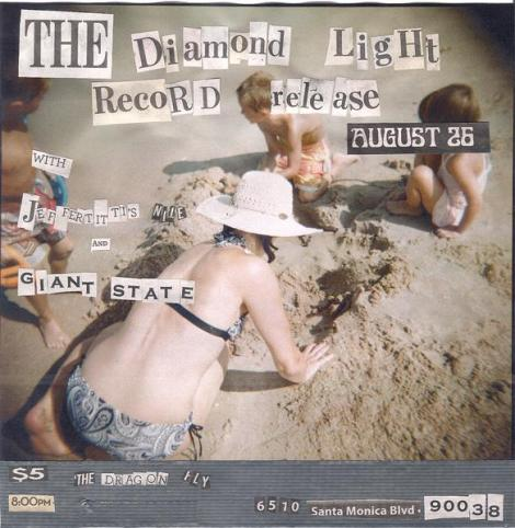 The Diamond Light CD Release Flyer