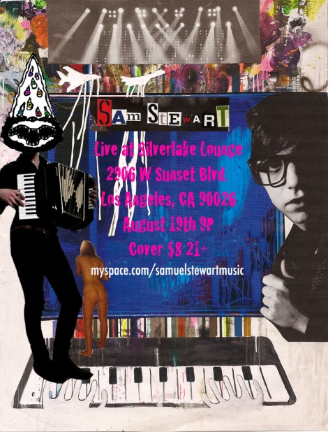Samuel Stewart Tonight @ Silverlake Lounge